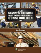What Every Supervisor Must Know about OSHA- Construction 1st Edition 9780808023609 0808023608
