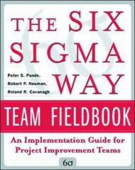 The Six Sigma Way Team Fieldbook 1st Edition 9780071373142 0071373144