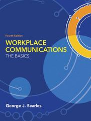 Workplace Communications 4th edition 9780205603367 020560336X