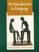 Introduction to Language 6th edition 9780030186820 003018682X