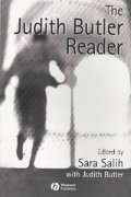 The Judith Butler Reader 1st Edition 9780631225942 0631225943