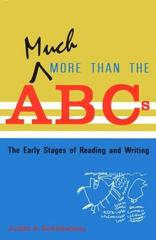 Much More Than the ABCs 1st Edition 9780935989908 0935989900