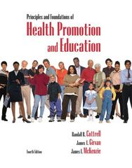 Principles and Foundations of Health Promotion & Education 4th edition 9780321532350 032153235X