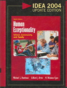 Human Exceptionality 8th edition 9780618918478 0618918477