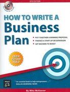 How to Write a Business Plan 8th edition 9781413305623 1413305628