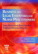 Business and Legal Essentials for Nurse Practitioners 1st edition 9780323036108 0323036104