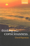 Thinking about Consciousness 0 9780199271153 0199271151