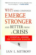 Why Some Companies Emerge Stronger and Better from a Crisis 1st edition 9780814408506 0814408508