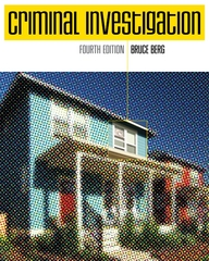 Criminal Investigation 4th edition 9780073401249 0073401242