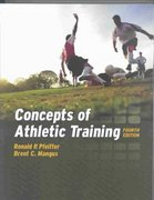 Concepts of Athletic Training 4th edition 9780763748203 076374820X
