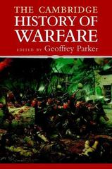 The Cambridge History of Warfare 2nd Edition 9780521618953 0521618959