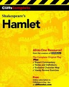 CliffsComplete Hamlet 1st Edition 9780764585685 0764585681