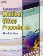 Student Workbook for Humphrey's Contemporary Medical Office Procedures, 3rd 3rd edition 9781401870683 1401870686