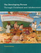 The Developing Person Through Childhood and Adolescence 4th edition 9781572590021 1572590025