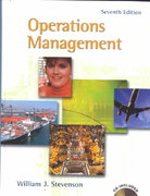 Operations Management with Student CD-ROM 7th edition 9780072476705 0072476702