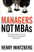 Managers Not MBAs 1st edition 9781576752753 1576752755