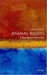 Animal Rights: A Very Short Introduction 0 9780192853608 0192853600