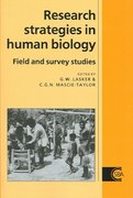 Research Strategies in Human Biology 0 9780521019095 0521019095