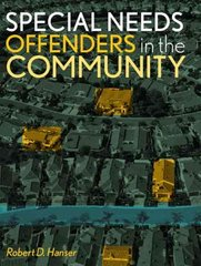 Special Needs Offenders in the Community 1st Edition 9780131188723 0131188720