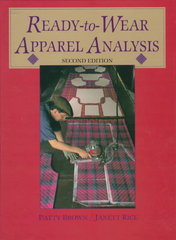Ready-To-Wear Apparel Analysis 2nd edition 9780136065913 0136065910