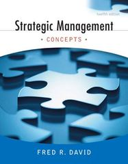 Strategic Management 12th Edition 9780136015697 0136015697