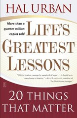 Life's Greatest Lessons 4th Edition 9780743237826 074323782X