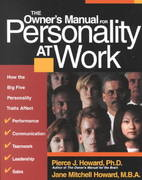 The Owner's Manual for Personality at Work 0 9781885167453 1885167458