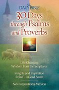 30 Days Through Psalms and Proverbs 0 9780736908665 0736908668