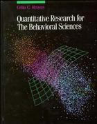 Quantitative Research for the Behavioral Sciences 1st Edition 9780471616832 0471616834