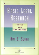 Basic Legal Research 0 9780735511989 0735511985