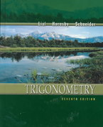 Trigonometry 7th edition 9780321057594 0321057597