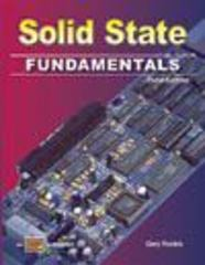 Solid State Fundamentals 3rd edition 9780826916341 0826916341