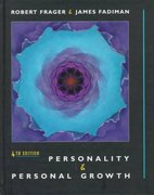 Personality and Personal Growth 4th edition 9780321011923 0321011929