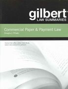 Gilbert Law Summaries on Commercial Paper and Payment Law 16th edition 9780314166494 0314166491