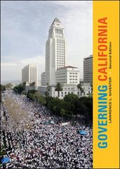 Governing California 2nd edition 9780073526331 0073526339