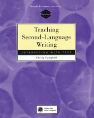 Teaching Second-Language Writing 1st edition 9780838478929 0838478921