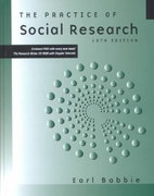 The Practice of Social Research 10th Edition 9780534620295 0534620299