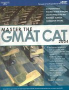 Master the GMAT CAT 2004 4th edition 9780768912036 0768912032