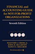Financial and Accounting Guide for Not-for-Profit Organizations 7th edition 9780471724452 0471724459