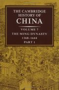 The Ming Dynasty, 1368-1644 0 9780521243322 0521243327