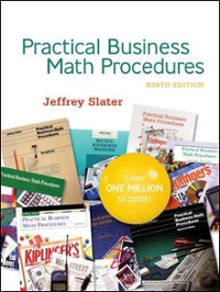 Practical Bus Math Procedures 9th edition 9780073137674 0073137677
