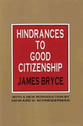 Hindrances to Good Citizenship 0 9781560006480 156000648X