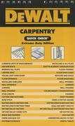 DEWALT Carpentry Quick Check: Extreme Duty Edition 1st Edition 9781111135874 1111135878