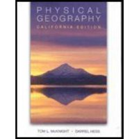Physical Geography: California Ed (W/CD) 0 9780558114176 0558114172