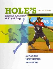 Hole's Human Anatomy &amp. Physiology 12th edition 9780077361341 0077361342