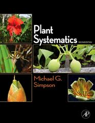 Plant Systematics 2nd Edition 9780123743800 012374380X