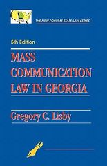Mass Communication Law in Georgia 1st Edition 9781581071375 158107137X