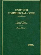 Uniform Commercial Code 6th Edition 9780314926692 0314926690