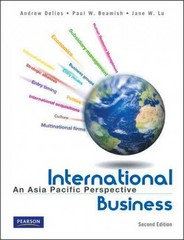 International Business 2nd edition 9789810684204 9810684207
