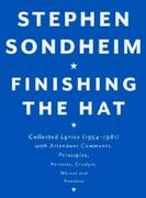 Finishing the Hat 1st Edition 9780679439073 0679439072